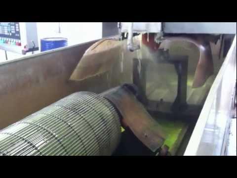 Corrugating rolls regrinding