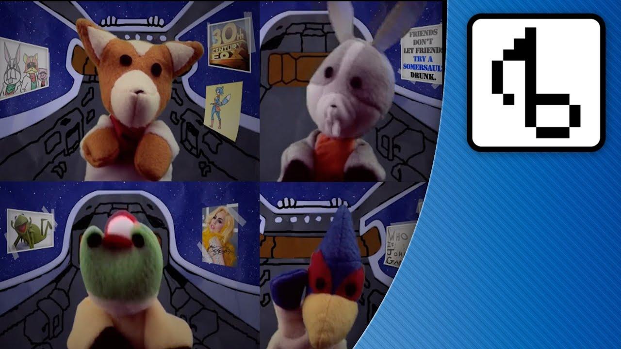 Star Fox Puppets Sing David Bowie (Do A Barrel Roll!)