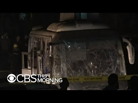 Egypt police kill 40 suspected militants after deadly bus attack