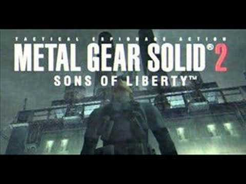 Metal Gear Solid 2 Soundtrack - Can't Say Goodbye To Yesterd