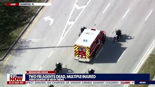 2 FBI agents dead, others injured in FL shooting while serving warrant