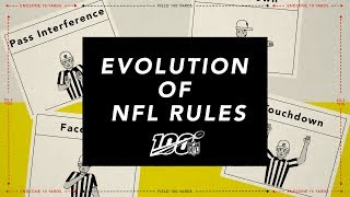 The OFFICIAL History of NFL Rules!