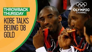 Kobe Bryant on reclaiming Olympic Basketball glory at Beijing 2008 | Throwback Thursday
