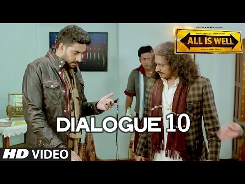 All Is Well Dialogue - 'Cheema Aa Gaya' | T-Series