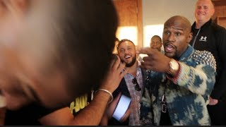 'I AM 49-0, HE IS 19-0 -WE'VE NEVER NEEDED THAT!' - FLOYD MAYWEATHER POURS COLD WATER ON DEVICE