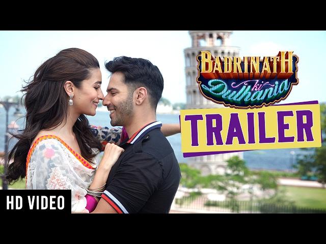 Badrinath Ki Dulhania Trailer   Karan Johar   Alia Bhatt   Varun