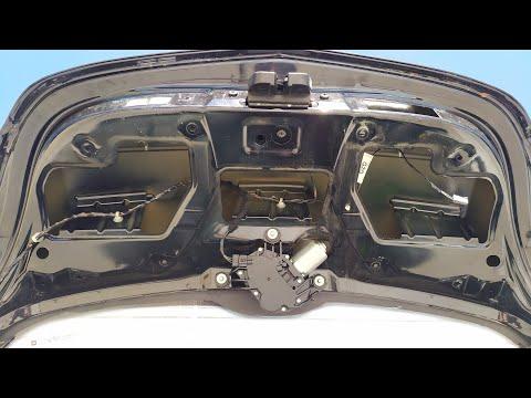 Как проверить кнопку багажника ОПЕЛЬ АСТРА