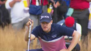 Tiger Woods,Russel Knox,Hideki Matsuyama Featured British Open Golf 2018 Round 1