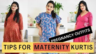 PREGNANCY INDIAN OUTFIT IDEAS (DAILY WEAR & SUSTAINABLE) *No Need To Buy Loose Clothes*