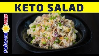 Ketogenic Bacon and Egg Salad [Low Carb High Fat Diet]