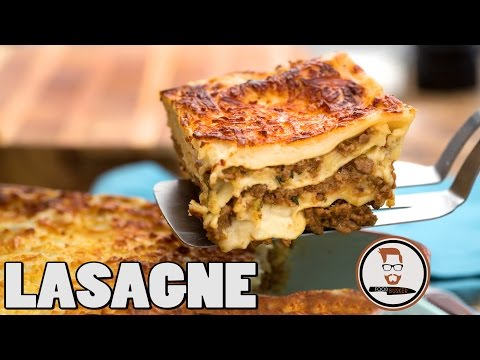 LASAGNA | How to make the best lasagne ever