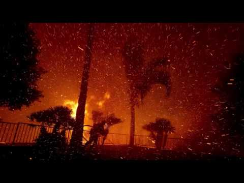 24 Structures Lost In Orange County Firestorm As Mass Evacuations Continue | Los Angeles Times