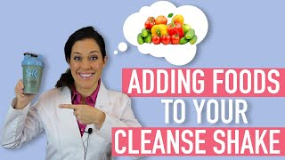 Can I Add Fruit Or Vegetables To My 10-Day Fast Metabolism Cleanse Shake?