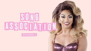 Shangela Sings Beyoncé, Lady Gaga and Katy Perry in a Game of Song Association | ELLE