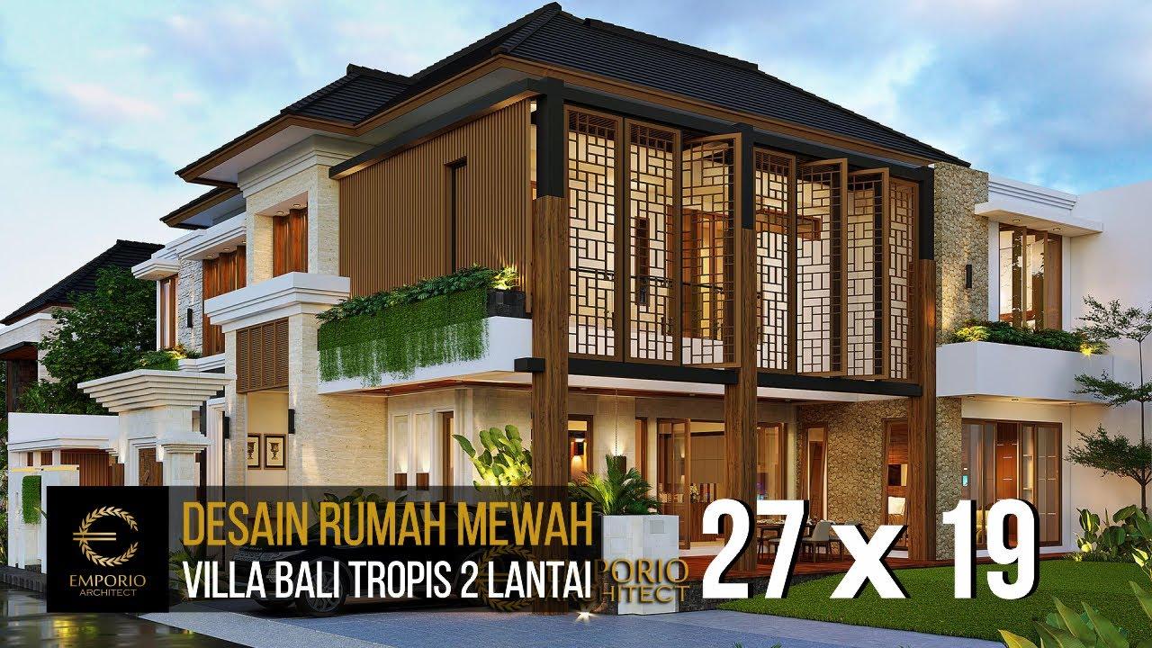 Video 3D Mr. Anang Villa Bali House 2 Floors Design - Yogyakarta