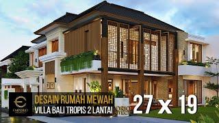 Video Mr. Anang Villa Bali House 2 Floors Design - Yogyakarta