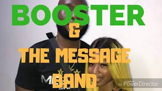 Booster  The Message Band Live 2018
