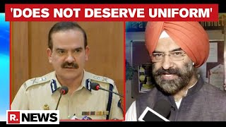 Manjinder Singh Sirsa Urges Maharashtra DGP To Take Action Against Param Bir Singh - Download this Video in MP3, M4A, WEBM, MP4, 3GP