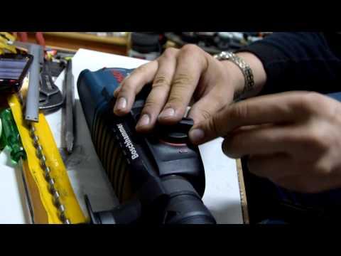 Как поставить переключатель режимов на перфоратор 2-26 Bosch