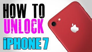 How to Unlock iPhone 7 Any Carrier or Country (Re-Upload)