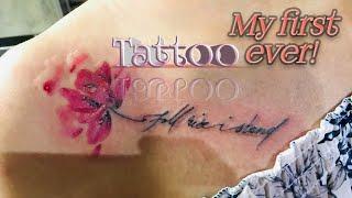 Lotus Tattoo  | Time Lapse