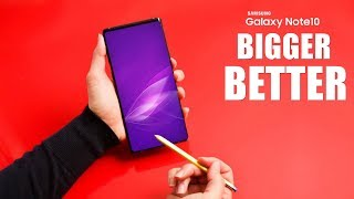 Samsung Galaxy Note 10 - BIGGER and BETTER