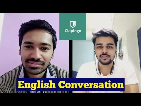 Clapingo English Conversation    English Speaking Practice    Indian Tutors Online