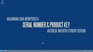 Autodesk Inventor Serial Number (Student Version)