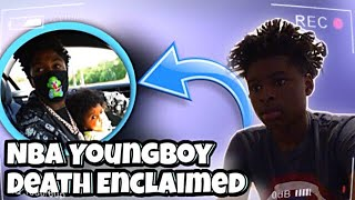 NBA Youngboy - Death exclaimed REACTION!