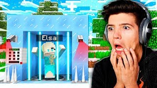 SAVING ELSA IN MINECRAFT POCKET EDITION! (Roleplay)