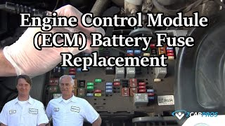 Engine Control Module (PCM) Fuse Replace