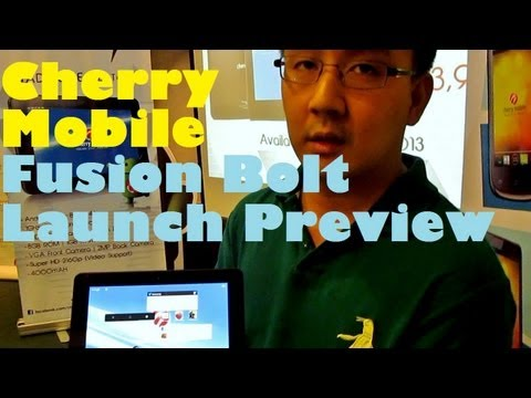 Cherry Mobile Fusion Bolt Launch Preview - Quad-Core 7