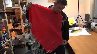 Как укладывать парашют беспилотника Геоскан 101