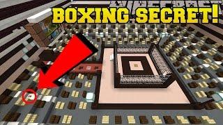 Minecraft: BOXING RING SECRET!!! - Hidden Buttons 8 - Custom Map [1]