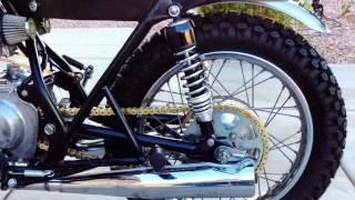 1974 Kawasaki KZ400 Brat Cafe Racer Bobber