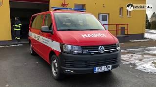 POŽÁRY.cz: V Hrádku u Rokycan jezdí nový dopravní automobil Volkswagen Transporter