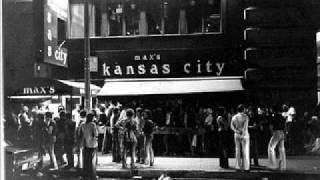 Blondie-The Bilbao Song-July 23, 1976-Max's Kansas City (live)