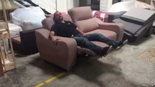 Sofá Relax modelo Kals 3 plz