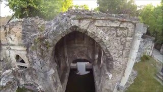 preview picture of video 'Tata English Garden in Hungary / DJI Phantom 2 Gimbal H3-3D & GoPro Hero 3 + Bl. Ed. - FPV'