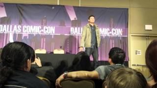Karl Urban Panel - SFX Dallas 2/9/14 (Part 5)