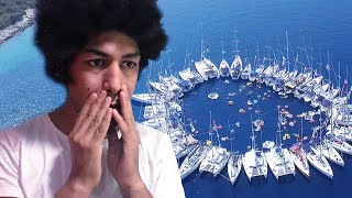I DJ At A Yacht Festival At Sea