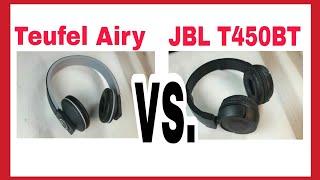 Bluetooth Kopfhörer Vergleich - Teufel Airy vs. JBL T450BT Review Test | Schlau gefragt ?!