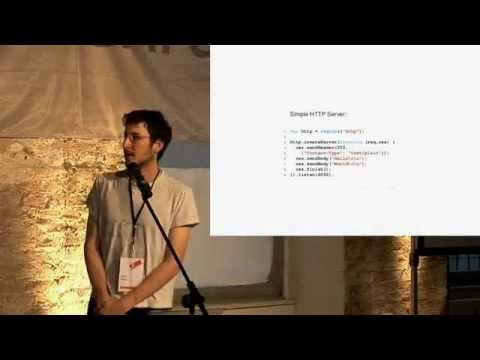 Original Node.js presentation