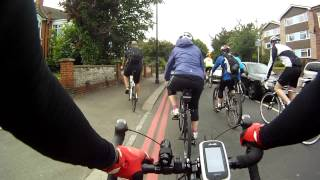 preview picture of video 'London to Brighton BHF Bike Ride 16 June 2013 (part 1)'