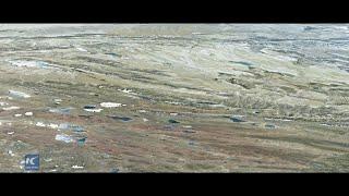 Widziane przez satelity: Ludzie i antylopy tybetańskie dzielą piękną ziemię