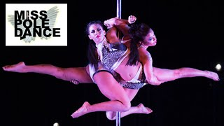 Jade Bensilum & Alana White - 2nd Placed DOUBLES - Miss Pole Dance UK 2015