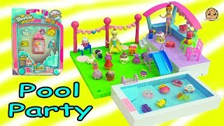 Surprise Pool Party For Season 8 World Vacation Shopkins with Queen Elsa Doll