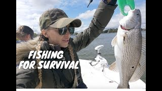 Survival Fishing Challenge During Quarantine - Catch and Cook