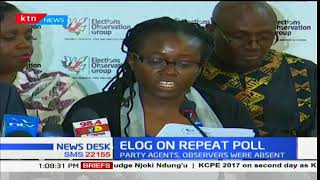 Elog says it cannot state whether the October elections was free, fair and credible
