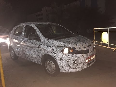 2015 Tata Zica hatchback spied testing in India